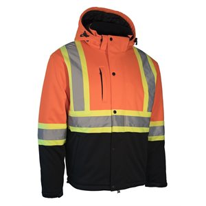 FORCEFIELD Hi Vis softshell winter safety jacket