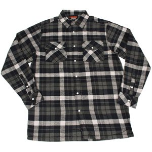 TASK lined flannel shirt