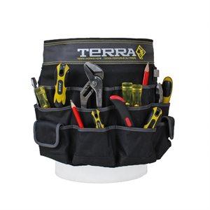 Organisateur d'outils pour seau TERRA
