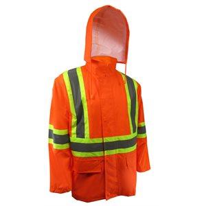 Manteau imperméable avec bandes réfléchissantes JACKFIELD
