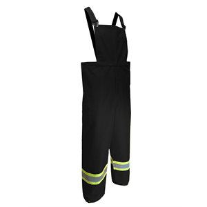JACKFIELD waterproof bib pants with reflective stripes