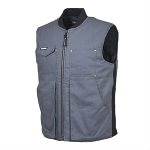 TERRA quilted lined vest Matrix