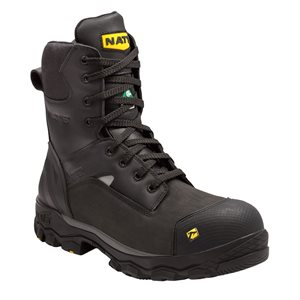 "NAT'S 8"" waterproof work boots"